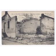 02290 - VIC SUR AISNE - LA GRANDE GUERRE 1914 - 1916 - BATAILLE DE L'AISNE - LES RUINES - - Vic Sur Aisne