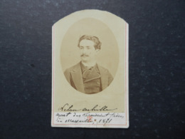 7ogg) ANTICA FOTOGRAFIA FOTOGRAFO TERRIS MARSEILLE ALLEES DE MEILHAN - Antiche (ante 1900)