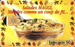 Télécarte Privée - Pub. En1194 - Salades Maggi - GEM - Francia