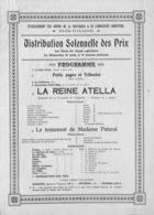 Bois-d'Haine - Etablissement Des Soeurs De La Providence (Programme ) - Programma's