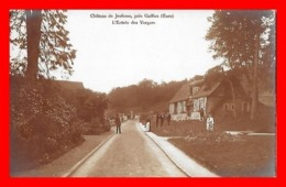 CPA (27) GAILLON Environ. Château De Jeufosse. L'Entrée Des Vergers, Animé. Carte Photo...J750 - France