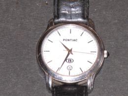 PONTIAC  3rd MILLENIUM - MODELE SNCB - MONTRE BRACELET HOMME - Bijoux & Horlogerie