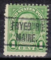 USA Precancel Vorausentwertung Preo, Locals Maine, Fryeburg 632-466 - Vereinigte Staaten