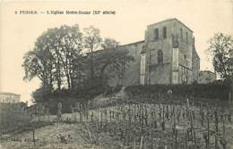 47 - Pujols - L'Eglise Notre-Dame - Voir Scans Recto-Verso - Francia