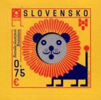 Slovakia - 2019 - Biennial Of Illustrations Bratislava 2019 - Mint Self-adhesive Stamp - Slovaquie