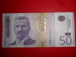 Serbia-Srbija 50 Dinara 2014, P-56br, Za, Re, R - Serbia