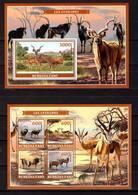 Burkina Faso, 2019. [bf1919] Fauna, Antelopes - Briefmarken