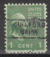 USA Precancel Vorausentwertung Preo, Locals Maine, Guilford 729 - Vereinigte Staaten