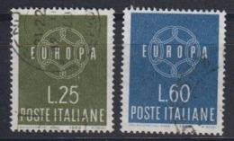 Europa Cept 1959 Italy 2v Used (44623C) - 1959