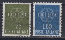 Europa Cept 1959 Italy 2v Used (44623D) - 1959
