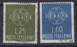 Europa Cept 1959 Italy 2v Used (44623E) - 1959