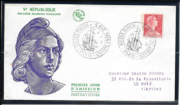 FDC 1959 - 1011 C MARIANNE DE MULLER - FDC