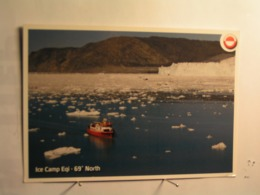 Ice Camp Eqi - 69 ° North - Groenland