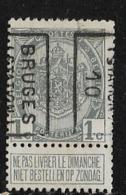 Brugge Station 1910  Nr. 1432B - Precancels
