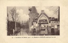 Inondations De Janvier 1910 Le Moulin De SENLIS (Montgeron) Envahi Par Les Eaux RV - Montgeron