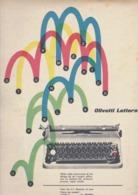 (pagine-pages)PUBBLICITA' OLIVETTI  Tempo1954/34. - Altri