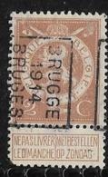 Brugge 1914  Nr. 2342B Hoekje Linksonder - Precancels