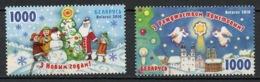Biélorussie - Weißrussland - Belarus 2010 Y&T N°722 à 723 - Michel N°840 à 841 O - Noël Et Nouvel An - Belarus