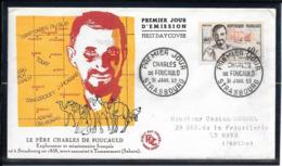FDC 1959 - 1191 Centenaire De La Naissance De CHARLES DE FOUCAULD - FDC