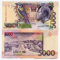 SAINT THOMAS AND PRINCE –5 000–DOBRAS–1996 –UNC - San Tomé E Principe