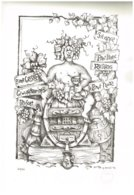 """Lithographie Sur Pierre """"BACCHUS"""" Dessiné Par Guy Ancel 1993 Imprimé Par Bernard Borocco Avec Certificat - Lithographien"""