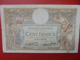 FRANCE 100 FRANCS 1932 CIRCULER (B.7) - 1871-1952 Antiguos Francos Circulantes En El XX Siglo