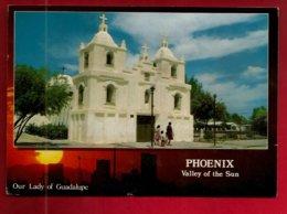CP Etats Unis Arizona Phoenix Valley Of The Sun Our Lady Of Guadalupe Photo Gunnar Kullenberg - église Monument ... - Phoenix
