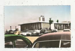 Cp , Automobiles , Aviation, L'aéroport De MAISON BLANCHE , Vierge , Ed. Jomone , N° 332,  ALGERIE - Aérodromes