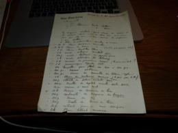 FF6  Document Commercial Facture Oscar Nizet Lévoz Jemeppe Sur Meuse  Liège 1899 - Belgium