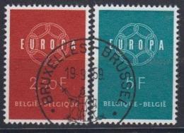 Europa Cept 1959 Belgium 2v Used (44624) - 1959