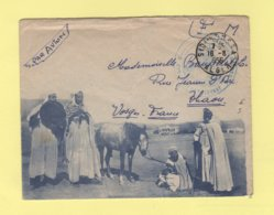 Sidi Moussa - Alger - 1956 - Enveloppe Illustree - Algérie (1924-1962)
