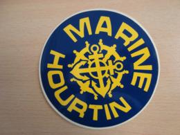 AUTOCOLLANT MARINE HOURTIN - Adesivi