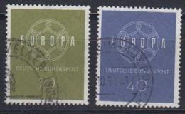 Europa Cept 1959 Germany 2v Used (44624C) - 1959