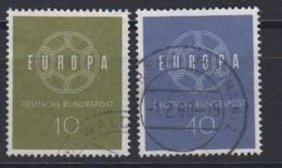 Europa Cept 1959 Germany 2v Used (44624E) - 1959