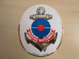 AUTOCOLLANT MARINE NATIONALE - Autocollants