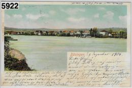Büsingen (D) Vom Rhein Gesehen - Stempel: Schaffhausen - SH Schaffhausen
