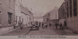 Harchies Entrée Du Charbonnage Et Rue Marquais - Bernissart