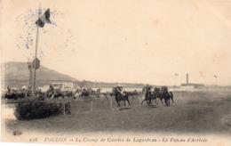83 LA SEYNE SUR MER PRES TOULON CHAMP DE COURSES DE LAGOUBRAN LE POTEAU D' ARRIVEE CLICHE UNIQUE - La Seyne-sur-Mer