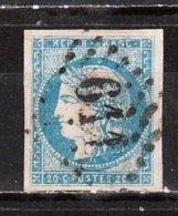 44A Ou 44B  Cérès - Bonne Valeur - Oblit. - LOOK!!!! - 1870 Emission De Bordeaux