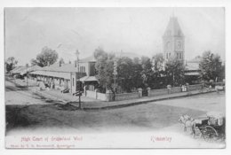 Kimberley - High Court Of Griqualand West - Undivided Back - South Africa