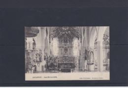 HAUWAERT-KERK-BINNENZICHT-VERZONDEN KAART-1911-EDIT.F.DE BLENDE-MOOIE STAAT ZIE DE BEIDE SCANS-TOPKAART+RARE! - Tielt-Winge