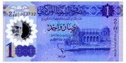 LIBYA 1 DINAR ND(1919) Pick New Unc - Libië