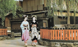 Japon Maiko (2 Scans) - Kyoto