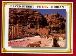 CP Jordanie Jordan Petra Pavet Street - Jordanie