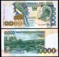 SAINT THOMAS AND PRINCE –10 000 –DOBRAS–1996 –UNC - Sao Tomé Et Principe