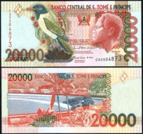 SAINT THOMAS AND PRINCE –20 000 –DOBRAS–2010 –UNC - San Tomé E Principe