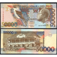SAINT THOMAS AND PRINCE –50 000 –DOBRAS–1996 –UNC - San Tomé E Principe