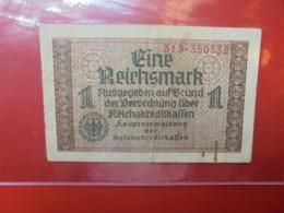 3eme REICH-TERRITOIRES OCCUPES 1 MARK 1940-45 CIRCULER (B.7) - [ 9] Duitse Bezette Gebieden
