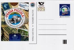 Czech Republic - 2019 - Praga Piccola - Int's Collectors Fair Sberatel - Prepaid Postcard With Hologram - Postcards
