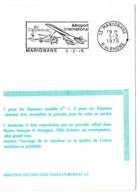 BOUCHES Du RHONE - Dépt N° 13 = MARIGNANE 1975 = FLAMME FDC = SECAP Illustrée D'un AVION CONCORDE + HELICO ' Aéroport ' - Marcophilie (Lettres)